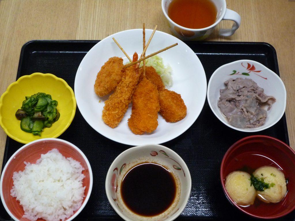 郷土料理週間、料理教室を行いました。