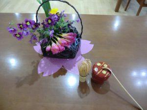 春のお茶会(4月5日)