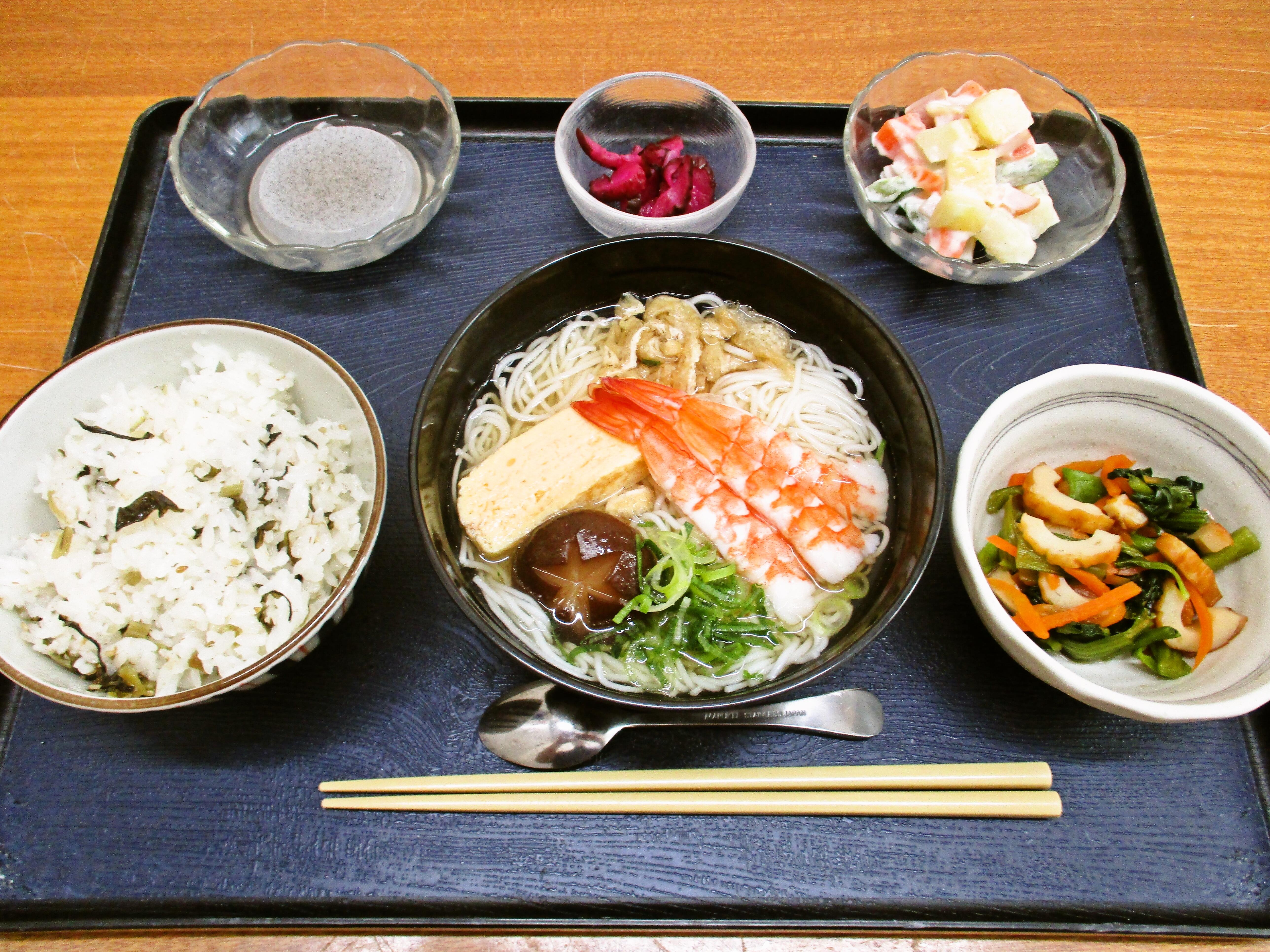 くみのき苑堺北 にゅう麺