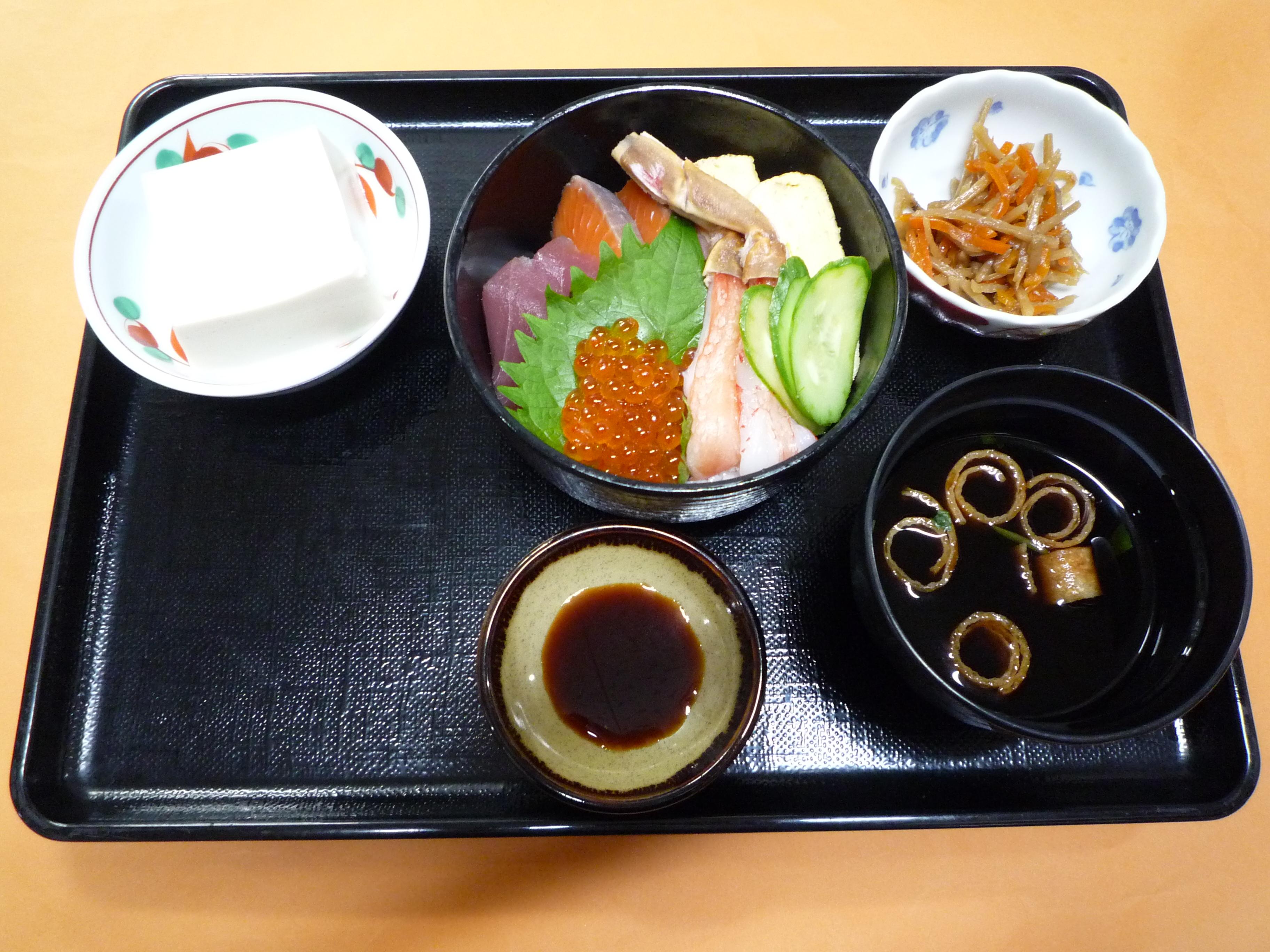 くみのき苑本部 海鮮散らし寿司
