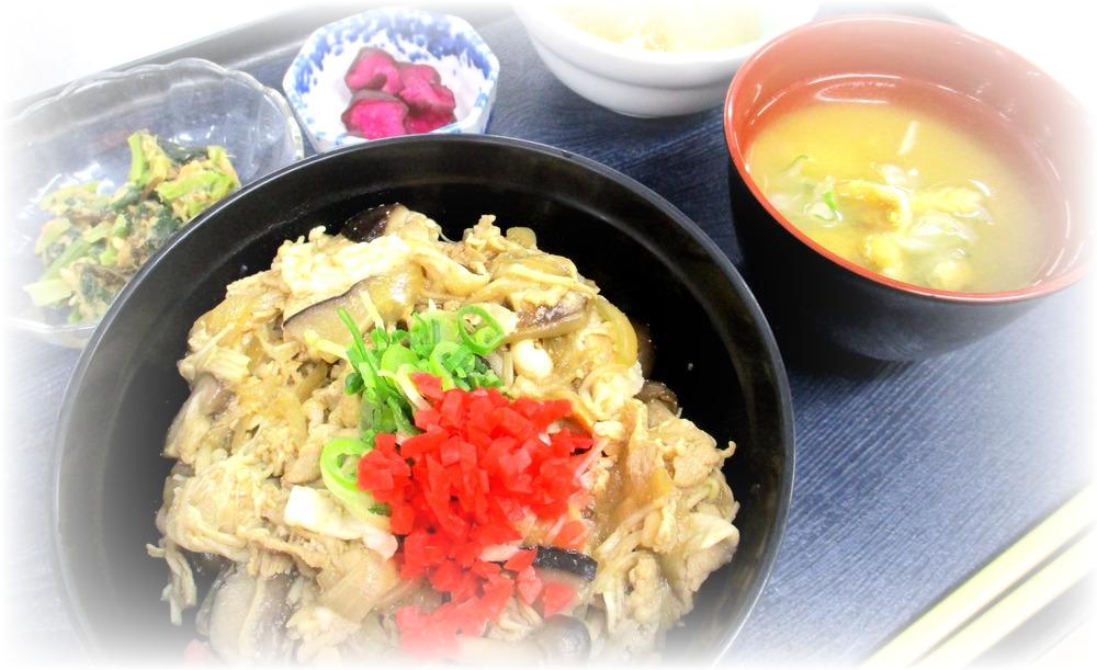 1/12 豚肉きのこ甘辛丼
