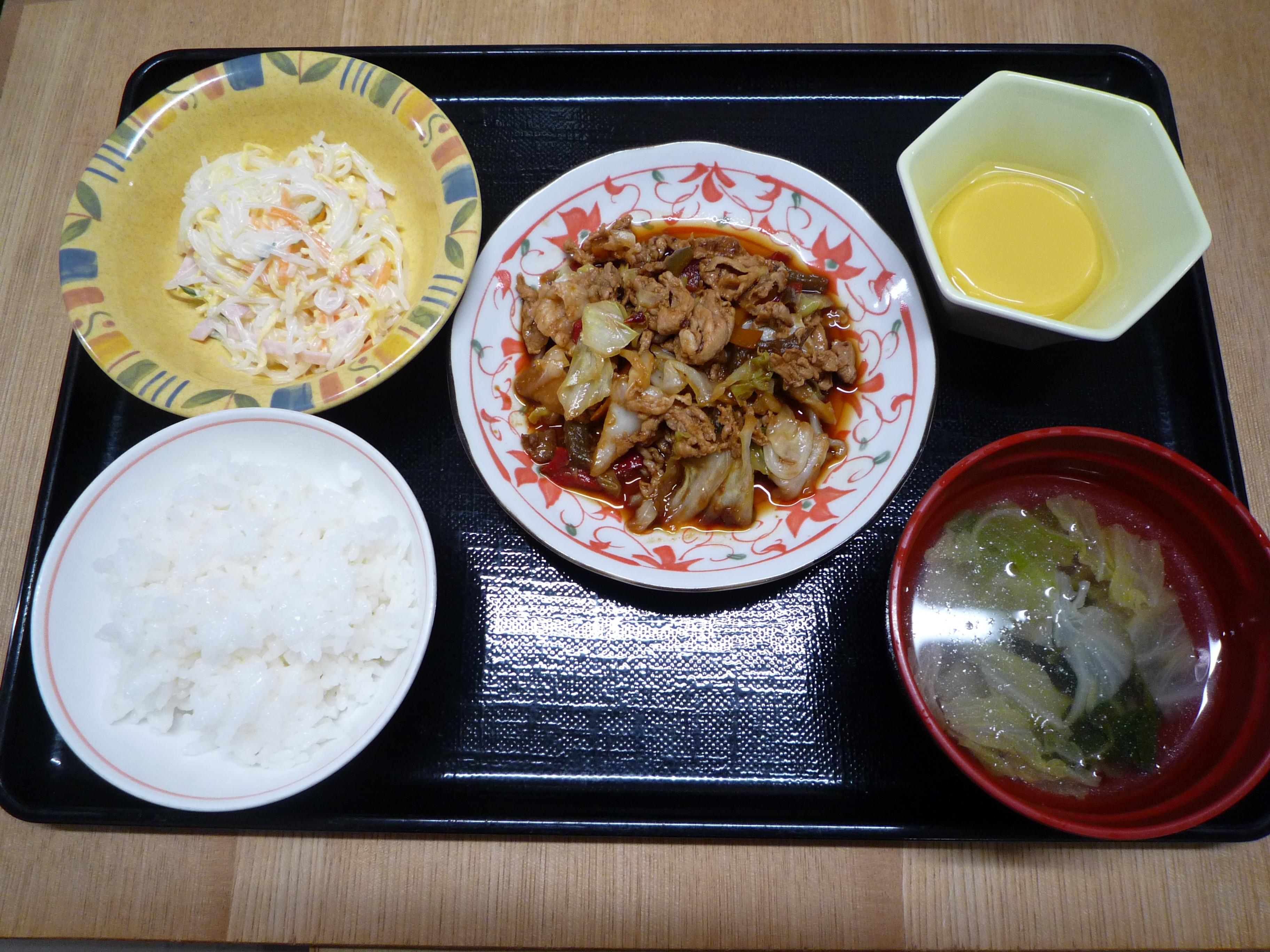 くみのき苑 回鍋肉