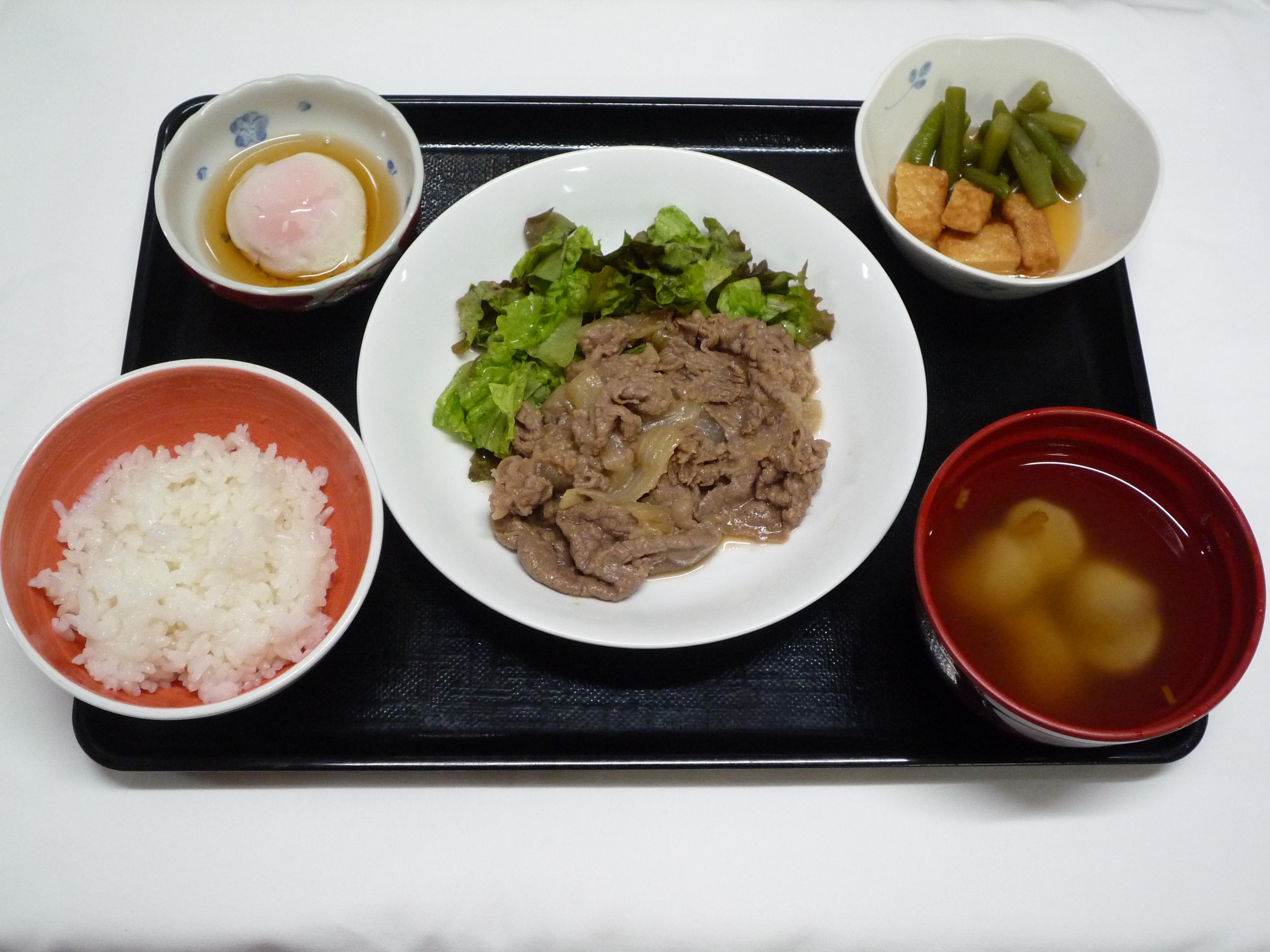 くみのき苑本部 牛肉の味噌焼