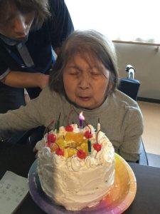 誕生日会(≧▽≦)