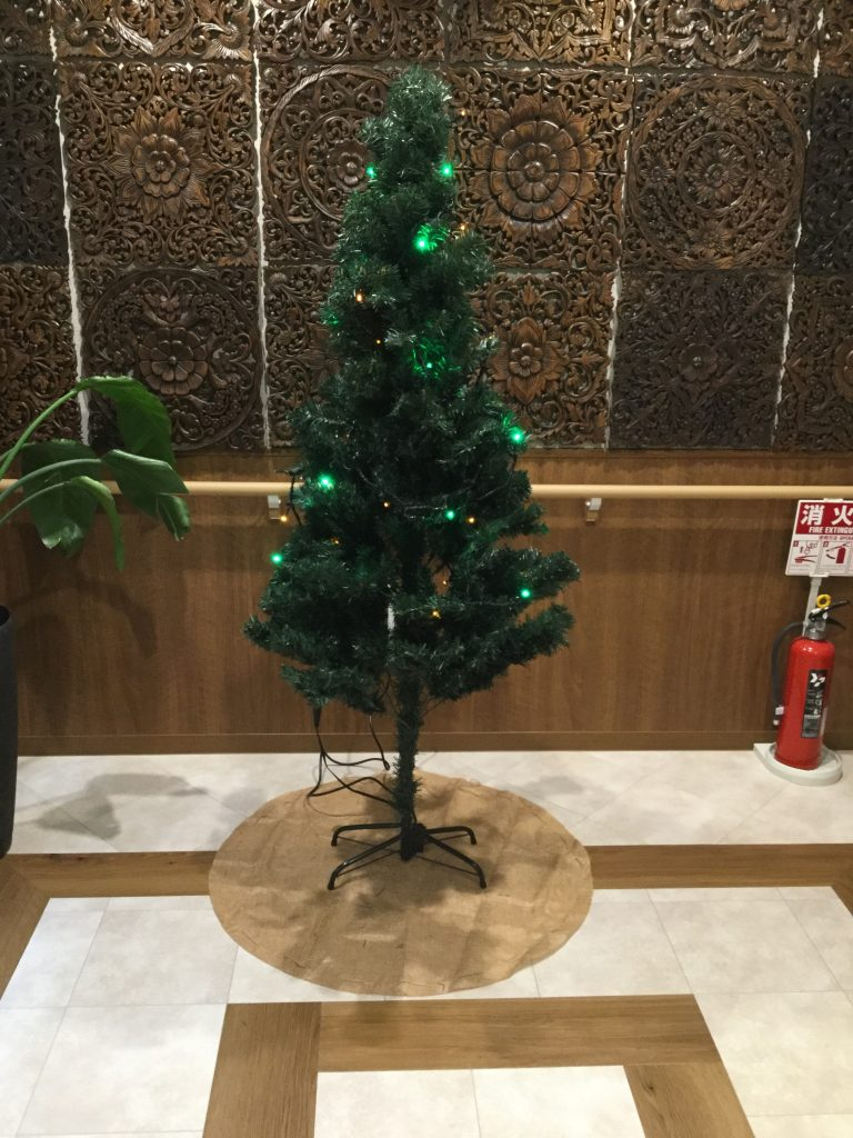 クリスマスツリー(^▽^)/