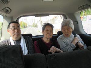 お花見ドライブに出発だ~!!!  平成30年4月6日(金)