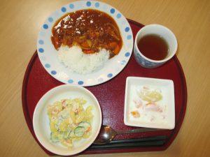 7月の誕生日会!! 手作り昼食、おやつにケーキもあるで~!!!平成30年7月12日(木)